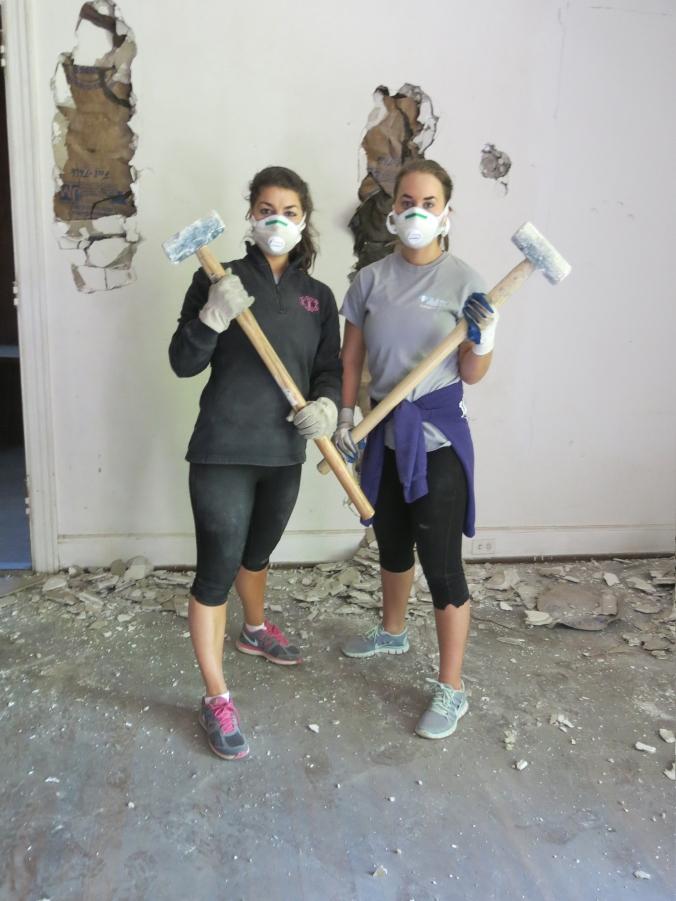 Sledgehammer Sisters. #thoseharperwomen