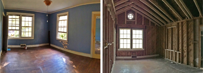 Before and After: Master Bedroom