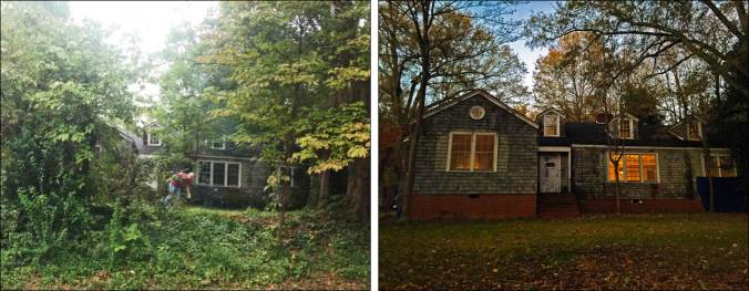 Before and After: Front Exterior