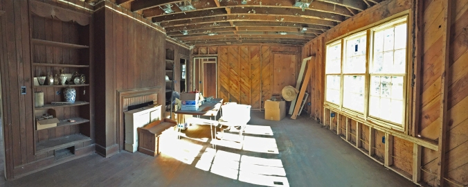 View from the inside (Formal Living Room).