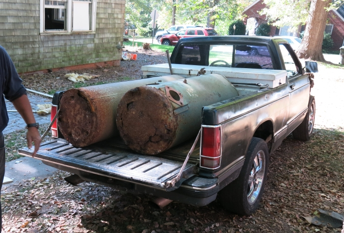 A couple of local scrappers took these beauties off our hands.