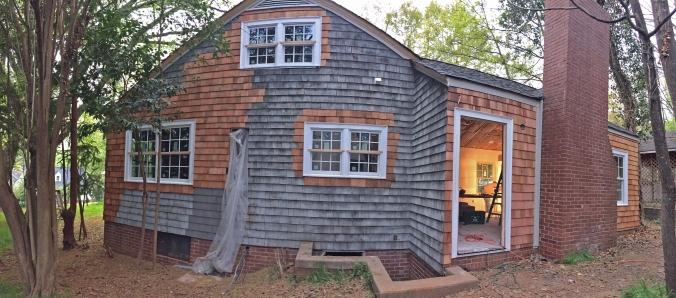 The Newton Nest Cedar Shake Replacement Home Renovation IMG_8155