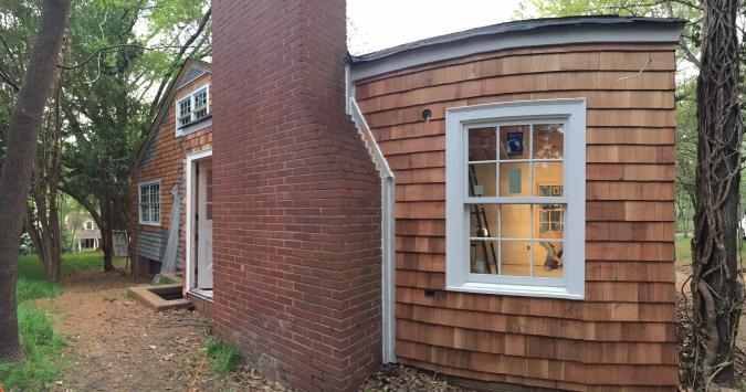 The Newton Nest Cedar Shake Replacement Home Renovation IMG_8156