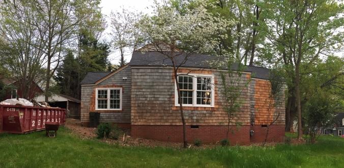 The Newton Nest Cedar Shake Replacement Home Renovation IMG_8159