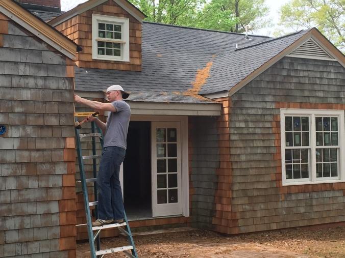 The Newton Nest Cedar Shake Replacement Home Renovation IMG_8174