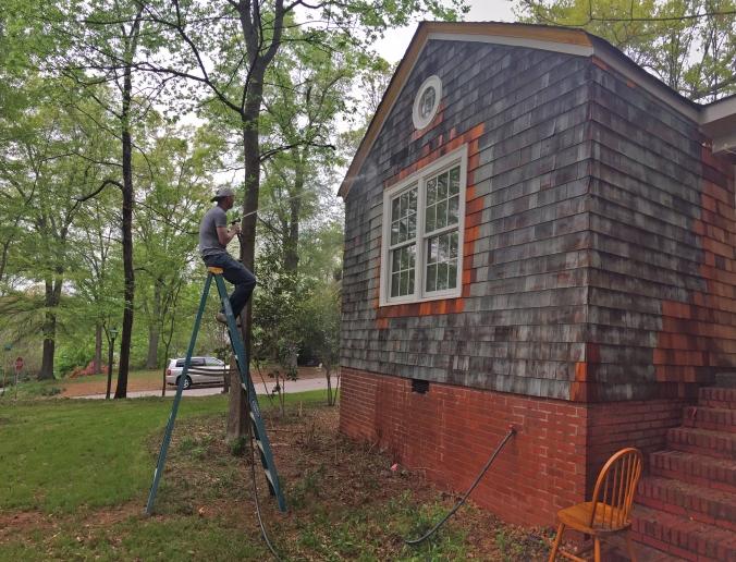 The Newton Nest Cedar Shake Replacement Home Renovation IMG_8205