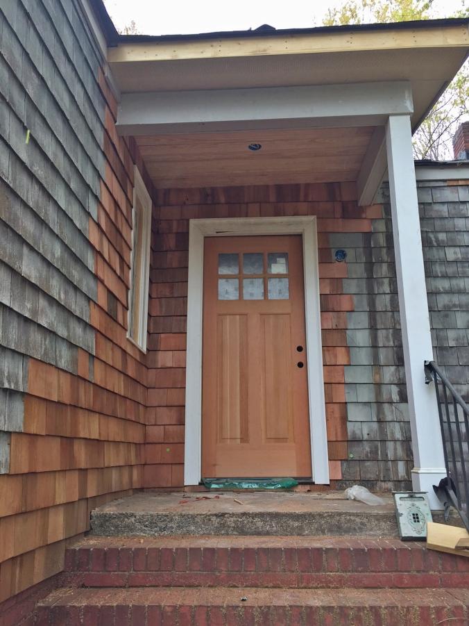 New front door!