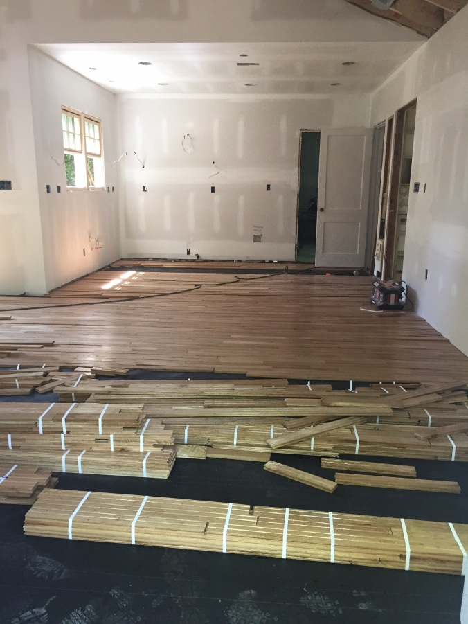 The Newton Nest Floor Refinishing 004